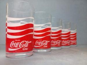 Bicchieri COCA COLA - Vintage anni 80 - Collezionismo