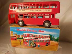 Bus giocattolo (no tin toy) anni 60 Hong Kong. Mint.