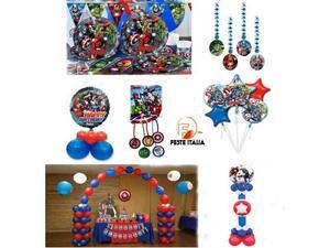 Crea la tua festa a tema super eroi avengers padova