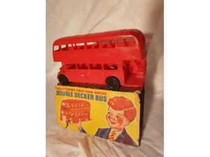 Double decker London bus (no tin toy) anni