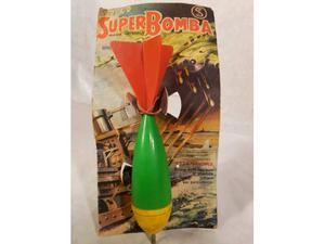 Giocattolo Bomba anni 60. Made in Italy.