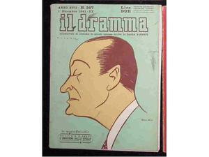 Il Dramma. Rivista, Cinema, teatro