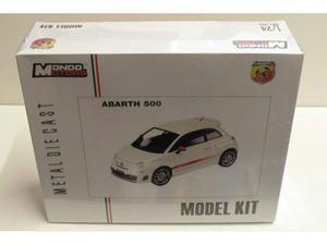 Kit Modellino FIAT 500 ABARTH Mondo Motors Scala 1:24 DIE
