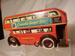 London bus anni trenta (tin toy/giocattolo in latta) anni 30