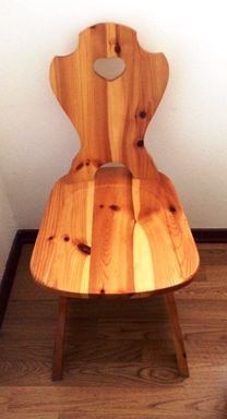 Sedie in legno stile rustico