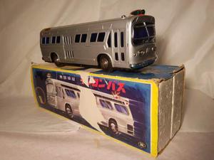 Tin toy/giocattolo in latta. Bus remote control