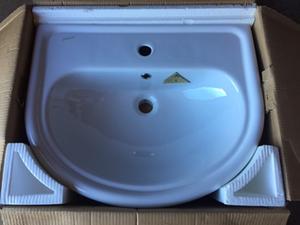 lavabo semincasso clodia ceramica dolomite