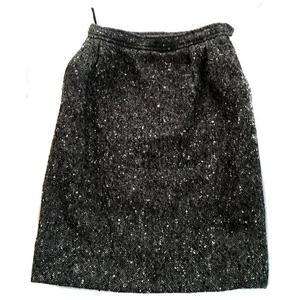 vintage ysl skirt
