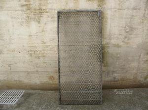 GRATA in acciaio zincato 50 x 110 cm