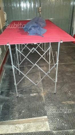 Tavoli Alluminio Pieghevoli Per Ambulanti.Tavoli Di Alluminio Per Mercato Posot Class
