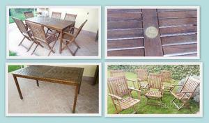 Tavolo giardino legno posot class - Tavolo in legno da giardino ...