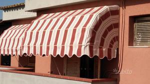 Tenda da sole capottina marrone nuova posot class for Tenda da sole usata