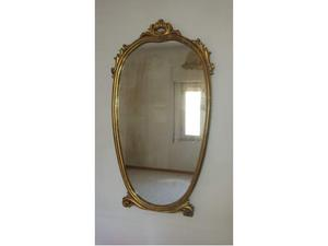 Specchio anni 70 con luce posot class for Specchio bagno anni 70