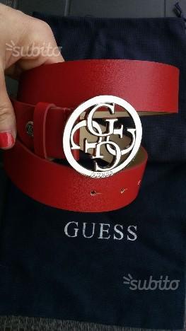 rivenditore di vendita 35bec 41548 Cintura guess bianca | Posot Class