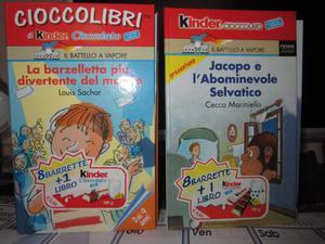 Due Libri Kinder Cioccolato da Collezione