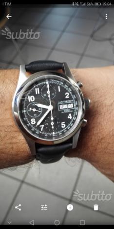 Hamilton khaki chrono automatico 530