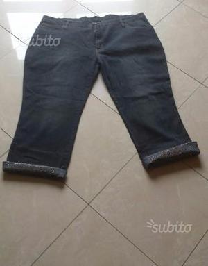 Jeans nuovi elasticizzati a 3/4