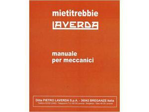 Manuale di officina per meccanici per Laverda M112 M132 M152