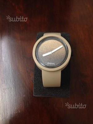 Orologio O CLOCK beige glitterato