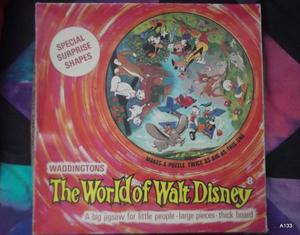 PUZZLE  IL MONDO DI WALT DISNEY MADE IN ENGLAND