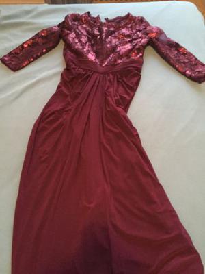 elegante vestito viola