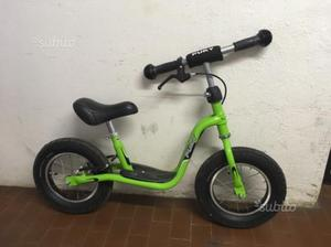 Bici Puky senza pedali