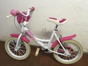 Bicicletta bambina anni 3-4 con ruotine