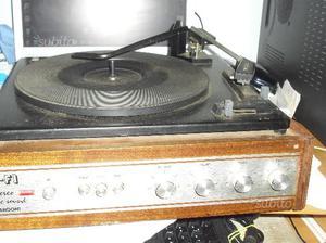 Giradischi stereo