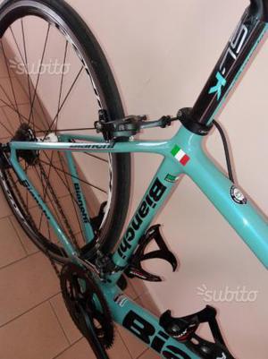 Kit telaio bianchi carbonio o bici completa