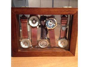 Vetrinetta + 5 orologi da polso