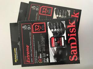 SanDisk Extreme Secure Digital da 32 Gb