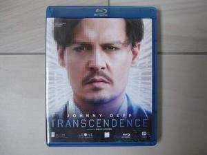 Transcendence Blu Ray Disc Johnny Depp fantascienza thriller