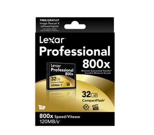 Lexar Professional Scheda Compact Flash, 32 GB