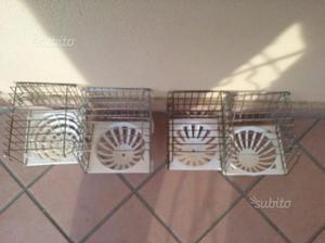 Quattro nidi per canarini e cardellini