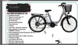 """City bike elettrica """""""