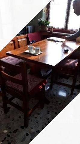 Giropanca con tavolo e 2 sedie