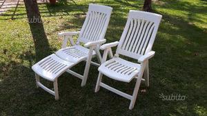 4 sedie da giardino in plastica cagliari posot class - Sedie da giardino in plastica ...