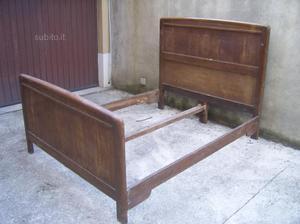 Vendo vecchio letto matrimoniale   Posot Class
