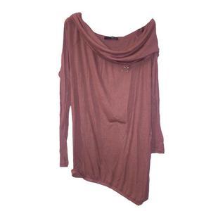 blusa/abito cipolla tg. 42 spallina con strass e catena