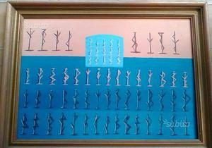 Dipinto ad olio su tela con cornice