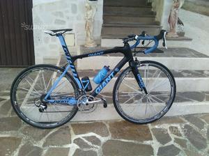 I bici giant TCR in carbonio