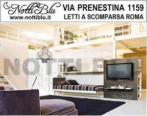 Letto a Scomparsa 1 piazza SE265 Via PRENESTINA