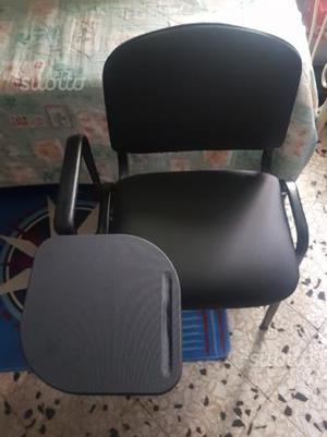 Sedi per Ufficio in pelle Nera Nuova Senza Etichet