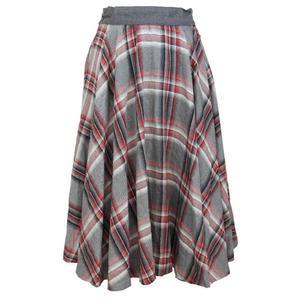 giorgio armani vintage wool gray skirt