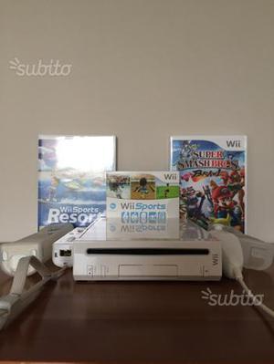 Nintendo Wii + giochi e accessori