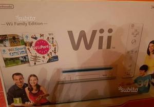 Nintendo wii + giochi+balance+volanti