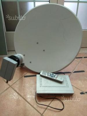 Parabola satellitare decoder telesystem