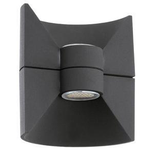 EGLO Luce a LED da Parete Esterna Redondo 5 W Antracite