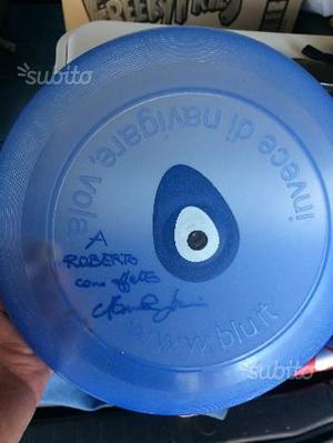 Frisbee Autografato Manuela Arcuri