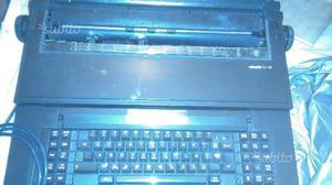 Macchina da scrivere elettronica olivetti et 116
